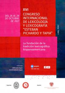 Afiche XVI CONGRESO LEXICOLOGIA - OK